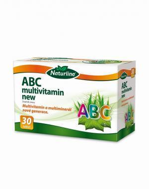 ABC Multivitamín New 30tob.