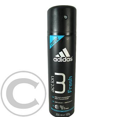 Adidas Action 3 - Fresh deo 200ml