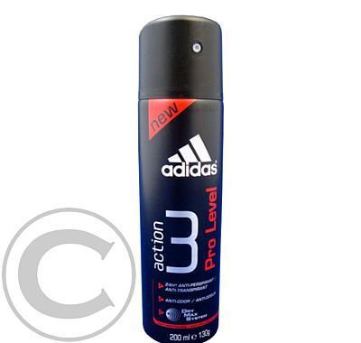 Adidas Action 3 - Pro Level deo 200ml