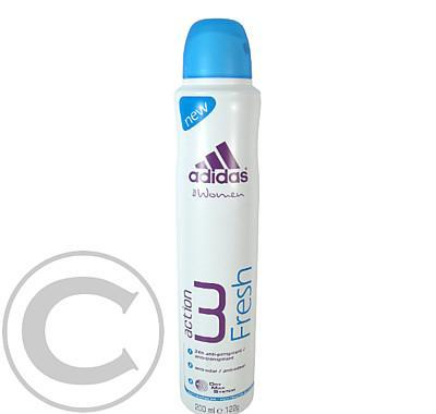 Adidas Action 3 Women - Fresh deo 200ml