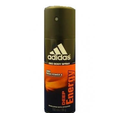 ADIDAS DEEP ENERGY DEO SPRAY 150 ,ml