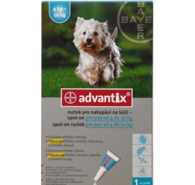 Advantix pro psy spot-on 4-10 kg 1 x 1 ml