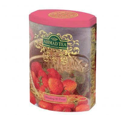AHMAD TEA Fine Selection Strawberry Cream 100 g