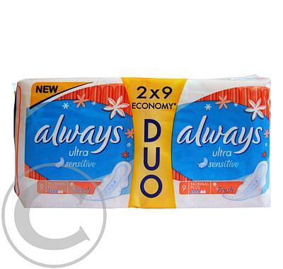 Always Sensitive Normal Duo Fresh (2x9ks)