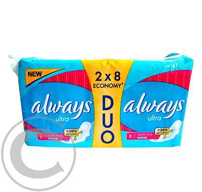 ALWAYS  ULTRA SUPER PLUS DUO (16ks)