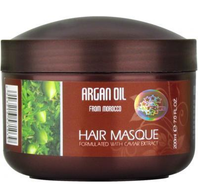 ARGAN OIL HAIR MASQUE Caviar Esence maska na vlasy 200 ml