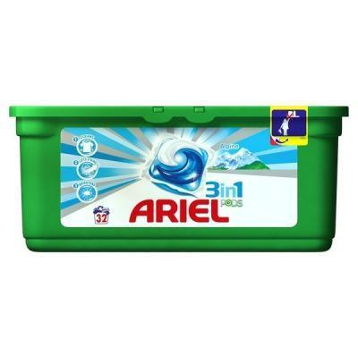 Ariel gel kapsle Alpine 3in1 32 kusů
