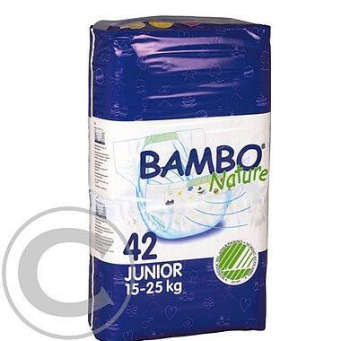 BAMBO Nature Air Plus Junior  plenkové kalhotky 15-25kg 42ks