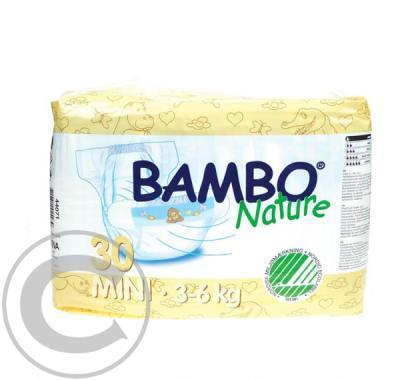 BAMBO Nature Air Plus Mini - plenové kalhotky 3-6kg 30ks