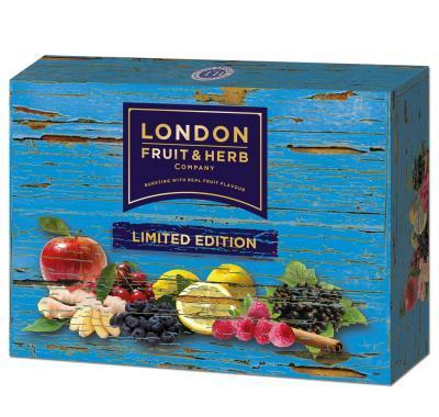LONDON FRUIT & HERB Limited Edition Pack – směs čajů po 30 sáčcích