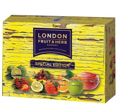 LONDON FRUIT & HERB Special Edition – směs čajů po 30 sáčcích