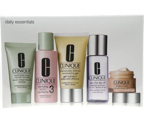 Clinique Daily Essentials Combination Skin  205ml 50ml DDM gel   15ml All About Eyes