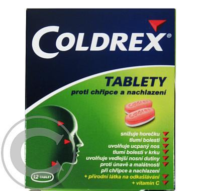 COLDREX TABLETY  12 Tablety