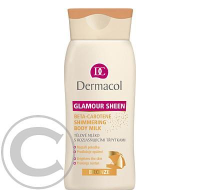 Dermacol Glamour Sheen beta-karoten body mléko bronze 200m