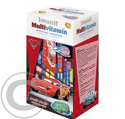 DISNEY Multivitamin Cars2 tbl.30   autíčko