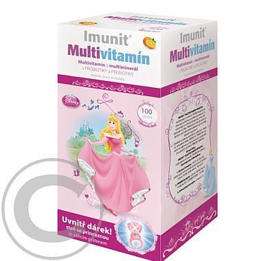 Disney Multivitamin Princess 100tbl.   svítící prsten