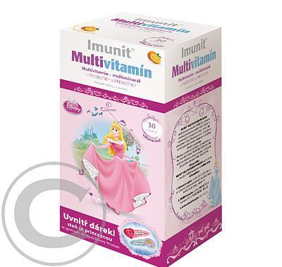 DISNEY Multivitamin Princess tbl.30   sponky