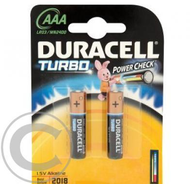 DURACELL Cell bat Turbo AAA MN2400 - 2 kusy