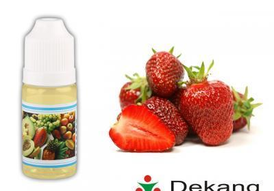 Elektronická cigareta liquid, 10ml, 0mg, Jahoda (Strawberry), DEKANG
