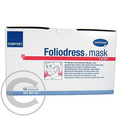 Foliodress Mask Loop Comfort modrá 50 ks