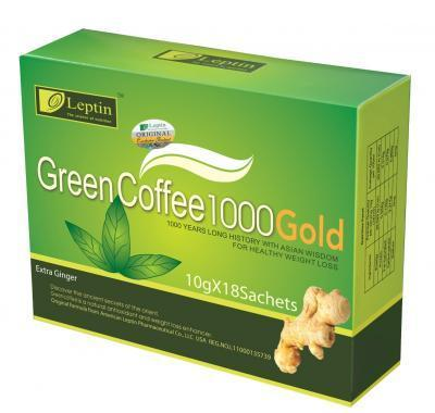 Green coffe 1000 gold - 18 sáčků