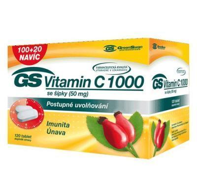 GS Vitamin C 1000 se šípky 100   20 tablet