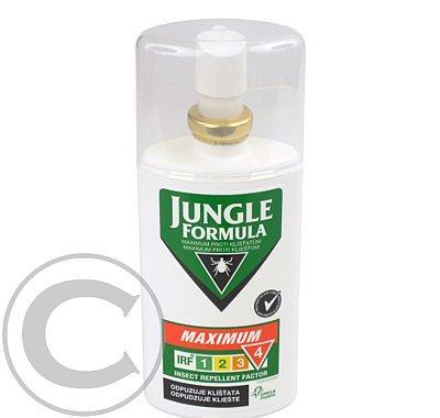 JUNGLE Formula Maximum proti klíšťatům 75ml