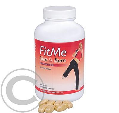NATURAL MEDICAMENTS FitMe Slim & Burn 200 kapslí
