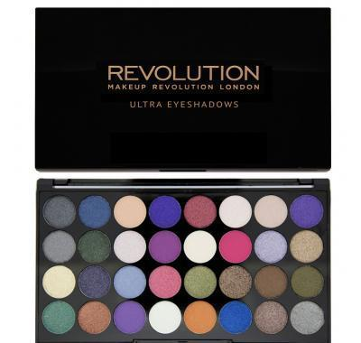 Makeup Revolution Eyes Like Angels paletka 32 očních stínů 16 g