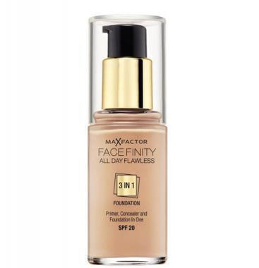 MAX FACTOR Face Finity 3in1 Foundation SPF20 30 ml 35 Pearl Beige