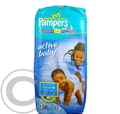 Pampers Active baby Maxi (7-18kg)  54ks