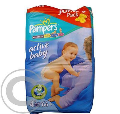 Pampers Active Baby Maxi plus (9-20kg) 66ks