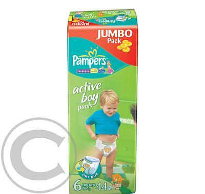 Pampers Active Pants Jumbo extra large boy 44