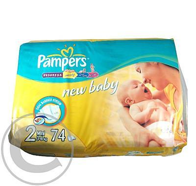 PAMPERS Mini 74 3-6kg 74ks