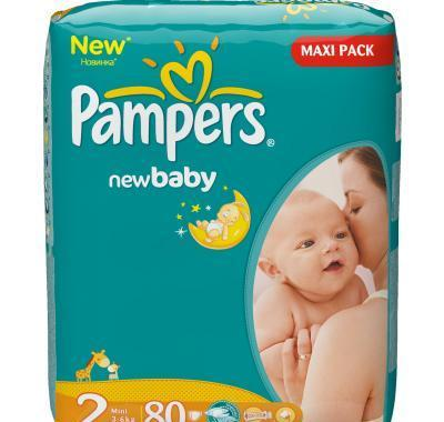 Pampers New Baby Mini 3 - 6 kg 80 kusů