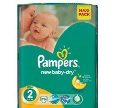PAMPERS New Baby Mini 3-6kg 76 kusů
