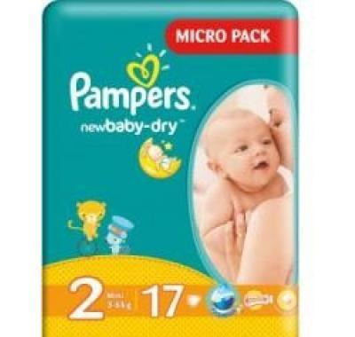 Pampers plenky New Baby Dry Mini 3 - 6 kg 17 kusů