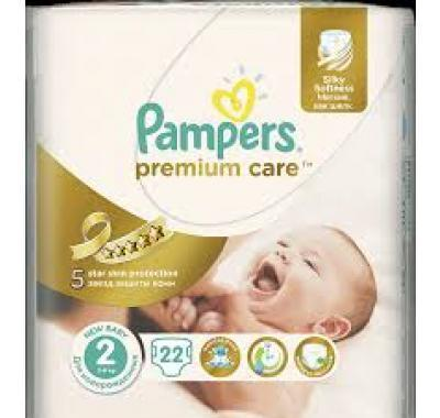 PAMPERS Premium Care 2 MINI 22 kusů