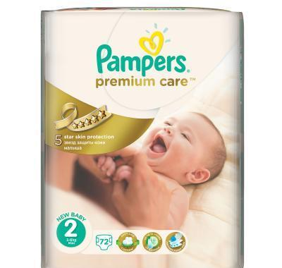 Pampers Premium Care 2 mini 3 - 6 kg 72 kusů