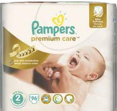 PAMPERS Premium Care 2 MINI 96 kusů