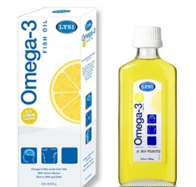 Rybí olej OMEGA-3 LEMON Island 240 ml