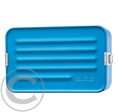 Svačinový box Sigg Alu Box Maxi Metallic Blue 228x145x77mm
